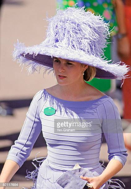 Viscountess Serena Linley At Ascot On Ladies Day