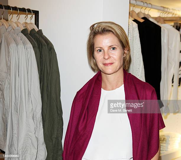 Viscountess Serena Linley attends as James Perse launch their first European store in Notting Hill on May 31 2012 in London England