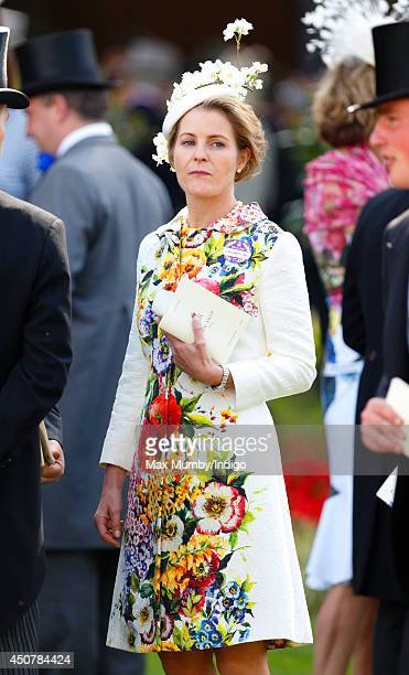 Viscountess Serena Linley attends Day 1 of Royal Ascot at Ascot Racecourse on June 17 2014 in Ascot England