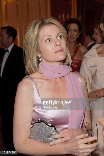Viscountess Serena Linley attends the 75th Anniversary dinner for Chateau HautBrion And Clarence Dillon at Lancaster House on June 10 2010 in London...