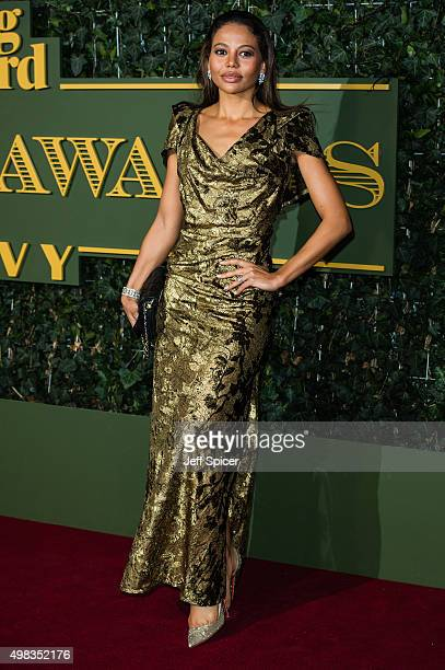 Viscountess Weymouth Emma McQuiston attends the Evening Standard Theatre Awards at The Old Vic Theatre on November 22 2015 in London England