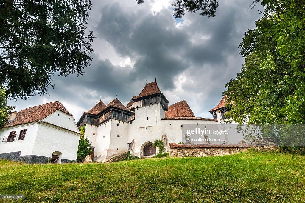 Viscri Fortified Church, Transylvania, UNESCO : Stock Photo