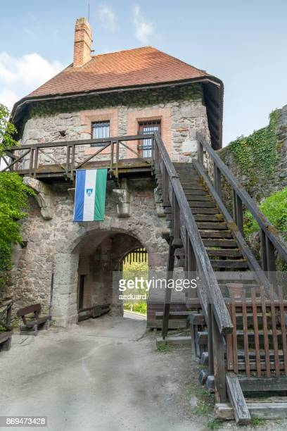 Visegrad Castle main enterance of the lower walls