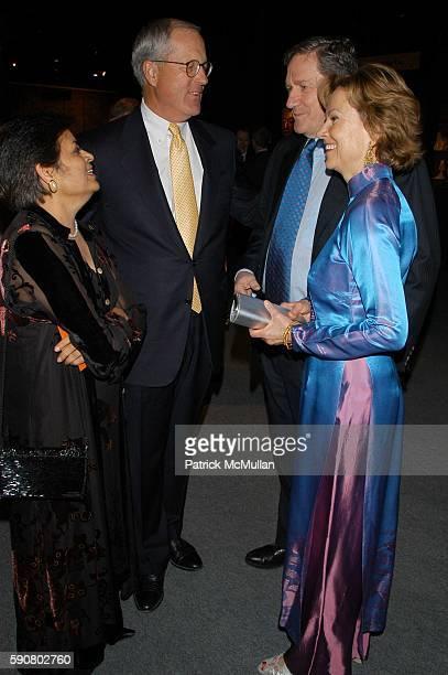 Vishakha Desai Jim Johnson Ambassador Holbrook and Mrs Holbrook attend International Asian Art Fair Opening Preview Gala Dinner and Young Patron's...