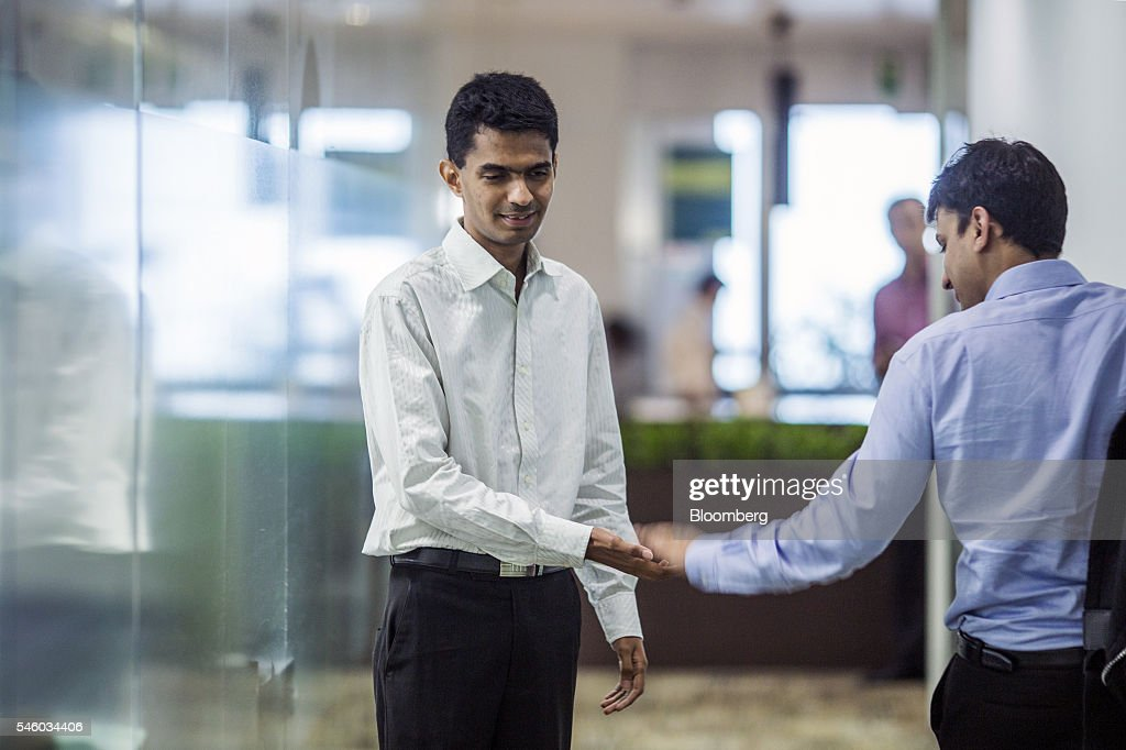 Blindness Is No Obstacle for Standard Chartered Plc Forex Trader Vishal Agrawal : News Photo