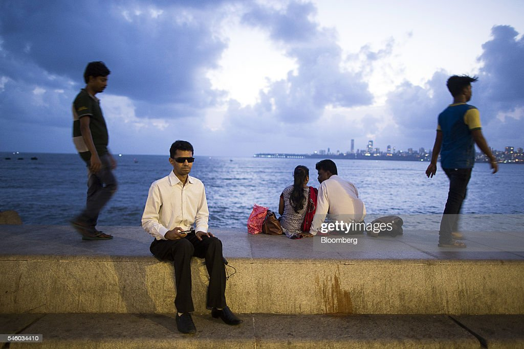 Vishal Agrawal, a foreign exchange trader at Standard Chartered Plc, sits for a photograph at Nariman Point in Mumbai, India, on Thursday, June 9, 2016. Agrawal was diagnosed with the degenerative eye disease retinitis pigmentosa in 2004 as he was preparing to leave for under graduate study in U.S. Constrained by the diagnosis, he settled for studying accounting close to his home in Mumbai. Photographer: Prashanth Vishwanathan/Bloomberg via Getty Images