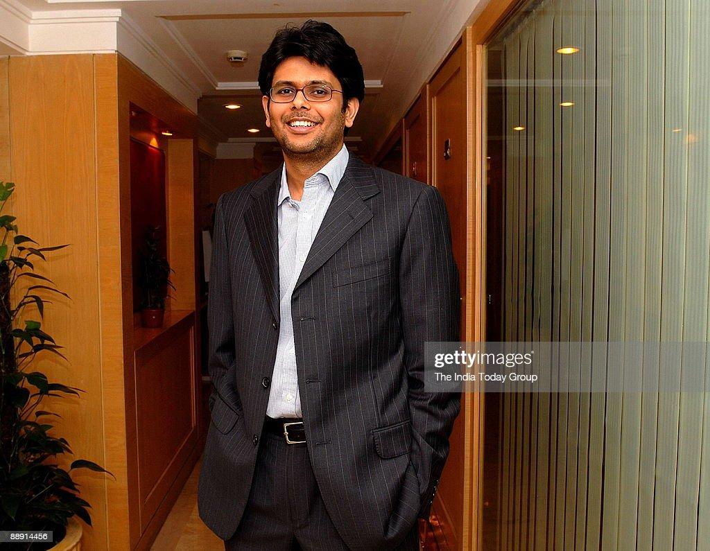 Vishal Kampani, Nimesh Kampani son and Managing Director of