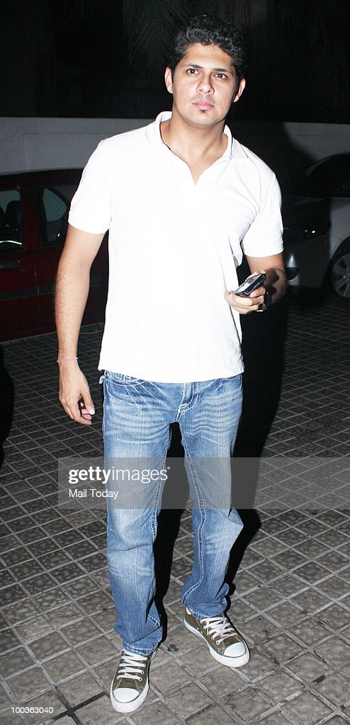 Vishal Malhotra at the preview of the film Kites in Mumbai on May 20, 2010.