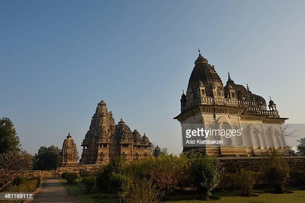 Vishwanath Temple, one of the Khajuraho group of monuments, a part of UNESCO World Heritage Sites at Khajuraho.