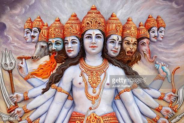 Vishwaroopa, the universal form revealed by Krishna in the Bhagavad Gita