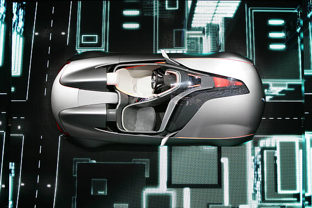 A Bmw Vision Connected Drive Concept Car Pictures Getty Images