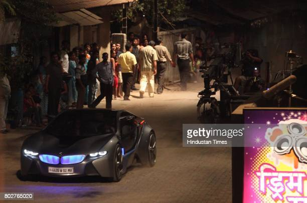 Vision EfficientDynamcis concept car for shoot of Mission Impossible 4 at Prabhadevi This car is extensively used in movie as a result of BMW's...