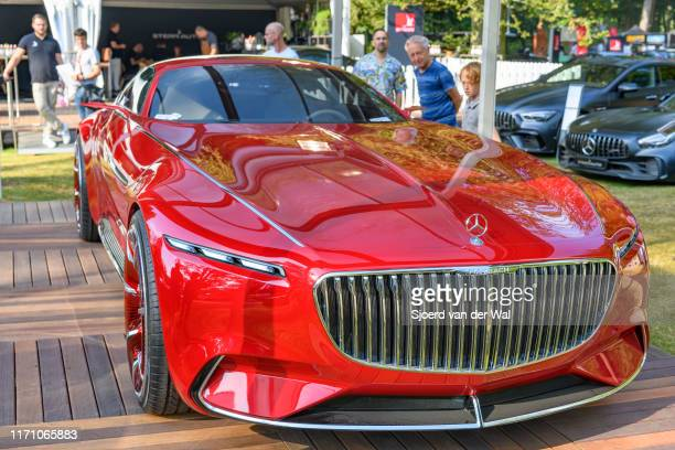 Vision MercedesMaybach 6 concept car on display at the 2019 Concours d'Elegance at palace Soestdijk on August 25 2019 in Baarn Netherlands This is...