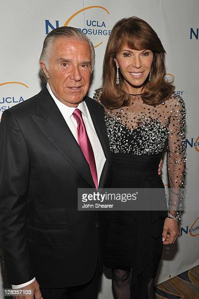 Visionary Award Winner Sidney Kimmel and Caroline Kimmel attend the Visionary Ball presented by UCLA Neurosurgery held at the Beverly Wilshire Four...
