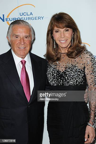 Visionary Award Winner Sidney Kimmel and Caroline Kimmel attend the 5th Annual UCLA Neurosurgery Visionary Ball at the Beverly Wilshire Four Seasons...