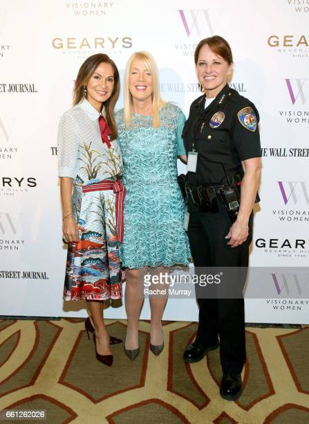 Visionary Women CoFounder and Executive Board Member Angella Nazarian Visionary Women Executive Board Member and Mayor of Beverly Hills Lili Bosse...