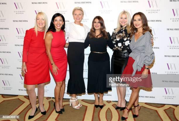 Visionary Women Executive Board Member Lili Bosse guest speaker Norma Bastidas President of Visionary Women Shelley Reid VP Global Marketing Luxury...