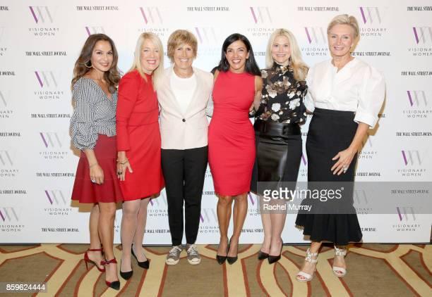 Visionary Women Executive Board Members Angella Nazarian Lili Bosse guest speakers Diana Nyad and Norma Bastidas Visionary Women Executive Board...
