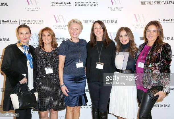 Visionary Women member Trisha Cardoso Visionary Women Executive Board Member Nina Kotick President of Visionary Women Shelley Reid Designer Tamara...