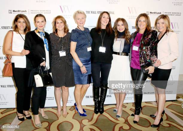 Visionary Women members Shelia Bolour Trisha Cardoso Visionary Women Executive Board Member Nina Kotick President of Visionary Women Shelley Reid...