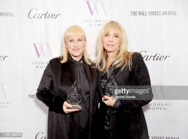Visionary Women's International Women's Day Honoring Patricia Arquette and Rosanna Arquette at Spago on March 7, 2019 in Beverly Hills, California.