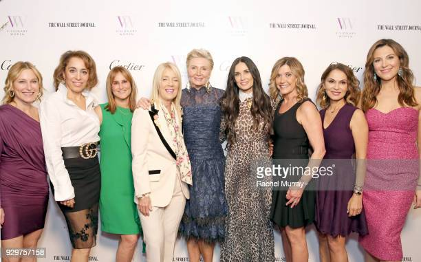 Visionary Women's Nancy Ellin Shilla Hekmat Nina Kotick Nancy Ellin Lili Bosse Visionary Women's President Shelley Reid Honoree Demi Moore Visionary...