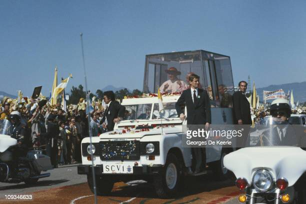 A visit by Pope John Paul II to Guatemala March 1983