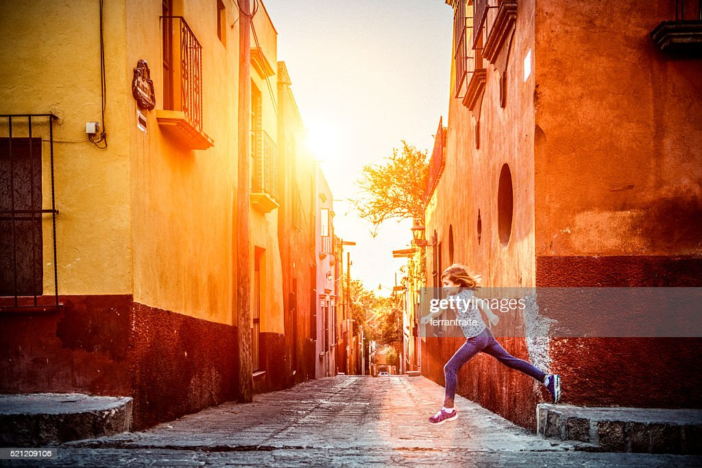 Visit Mexico with Children : Stock Photo
