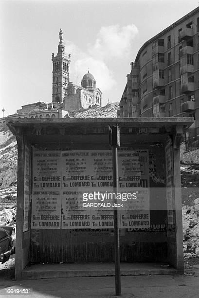 Visit Of Marseille During The Presidential Election Campaign 1965 France Marseille 4 mars 1965 Marseille est une ville côtière également préfecture...