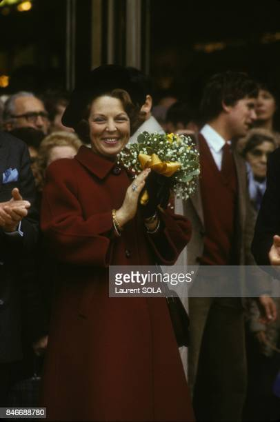 Visit of Queen Beatrix of Netherlands and Crown prince Claus in London on November 17 1982 in London United Kingdom