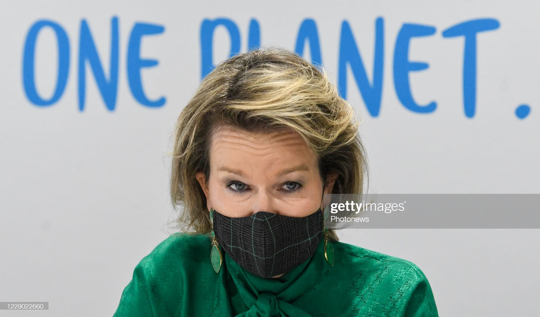 visit-of-queen-mathilde-to-danone-on-occasion-of-a-virtual-event-a-picture-id1229022660