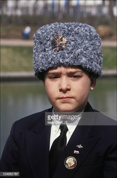 Visit of Romanov family In Tsarskoye Selo, Russia On April 29, 1992 - Georgui.