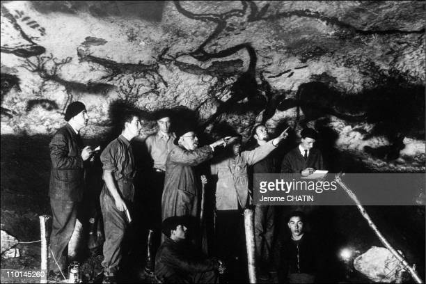 Visit of the cave in Montignac France on June 01 1990