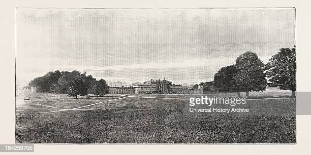 Visit Of The Prince Of Wales To Rotherham: Wentworth Woodhouse, The Seat Of Earl Fitzwilliam. K.G.