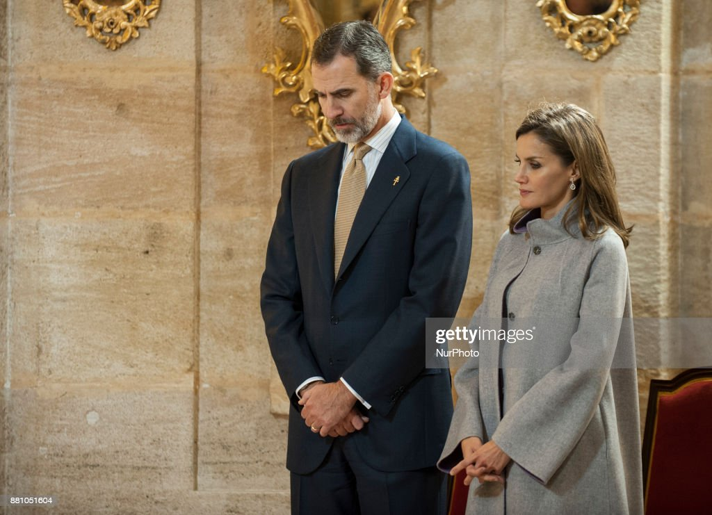 Visit of the Spanish kings to Caravaca de la Cruz : News Photo