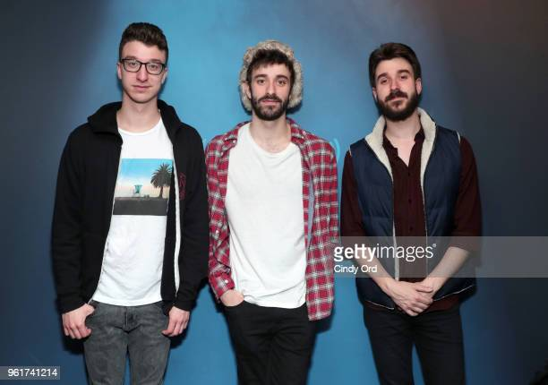 AJR visit the SiriusXM Studios on May 23 2018 in New York City