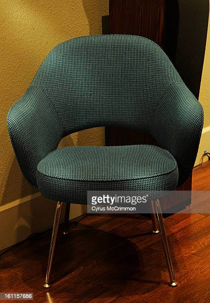 Visit to the Kirkland Museum and viewing the Eero Saarinen show of furniture on Tuesday October 12 2010 The model 71 Armchair Cyrus McCrimmon The...