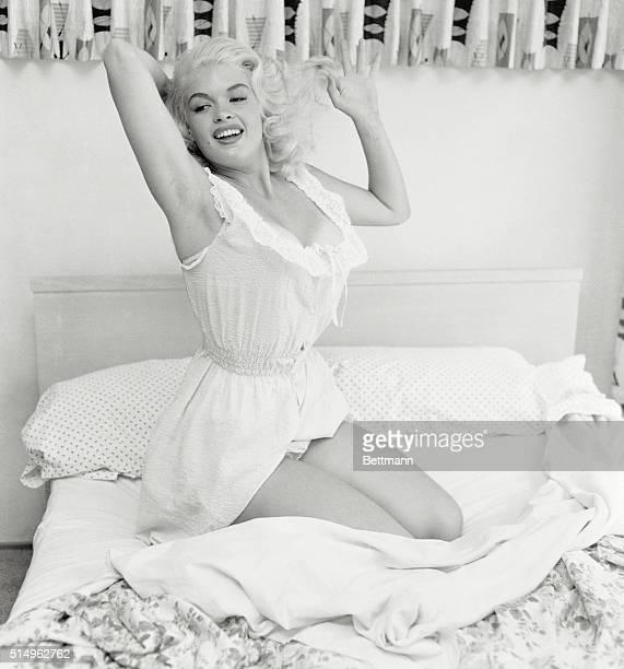 Visit With A Starlet There's a champagne blonde in your future if you're a moviegoer She's Jayne Mansfield a tall terrific Texan soon to be seen in...