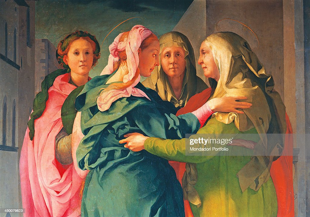 Visitation By Jacopo Carucci Known As Il Pontormo 1528 1529 Photo D Actualite Getty Images