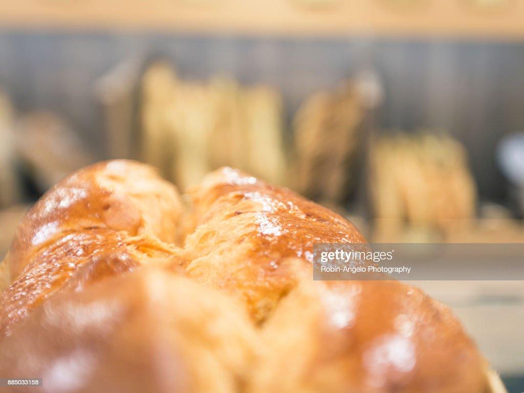 Visite d'une boulangerie en  Haute-Savoie, France : Photo