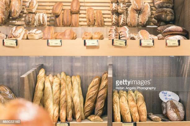 Visite d'une boulangerie en  Haute-Savoie, France