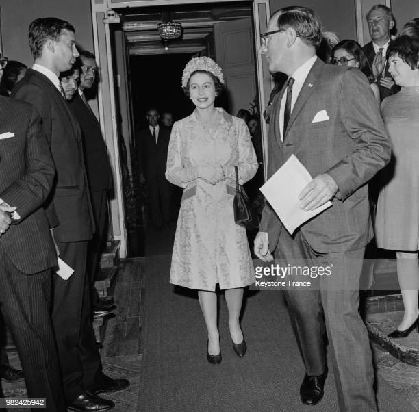 Visite officielle de la reine Elisabeth II en Autriche en mai 1969