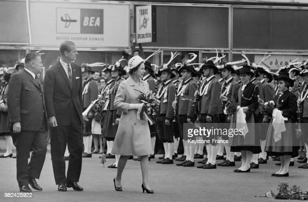 Visite officielle de la reine Elisabeth II et du prince Philip en Autriche en mai 1969