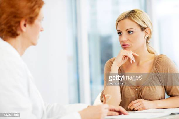 Visiting a psychologist