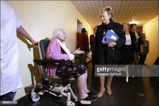 Visiting Gerontology area of the Rene Muret Bigottini hospital. Visiting Gerontology area of the Rene Muret Bigottini hospital.
