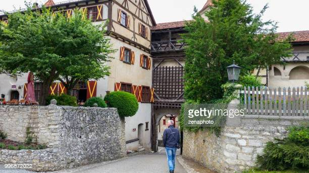 Visiting Harburg castle
