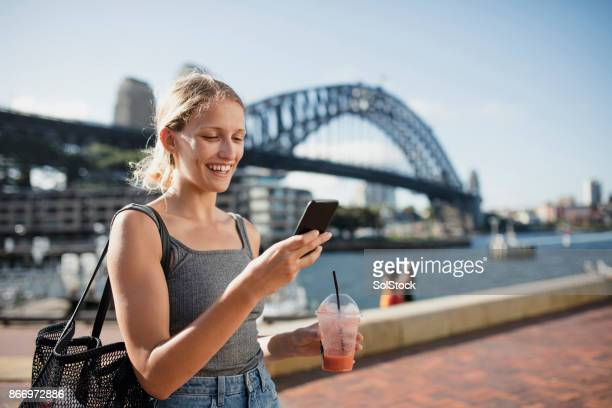 visiting sydney - sydney stock pictures, royalty-free photos & images