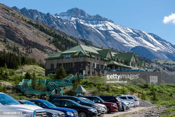 Visitor Centre at the Columbia Icefields in Jasper National Park, Alberta, Canada
