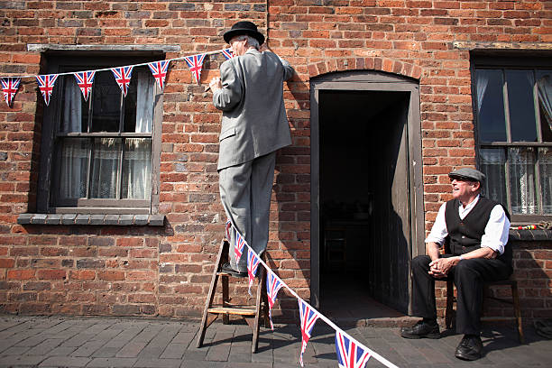 Black Country Museum Prepares For The Royal Wedding