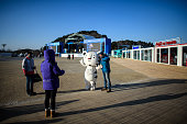 gangneung south korea visitor has his